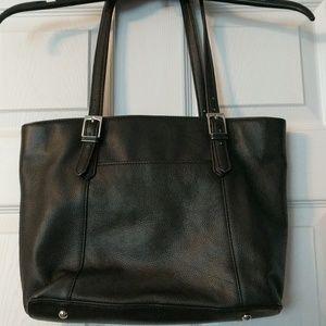 Black Tignanello shoulder bag